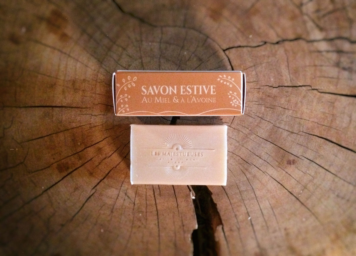 Savon Estive Miel Avoine
